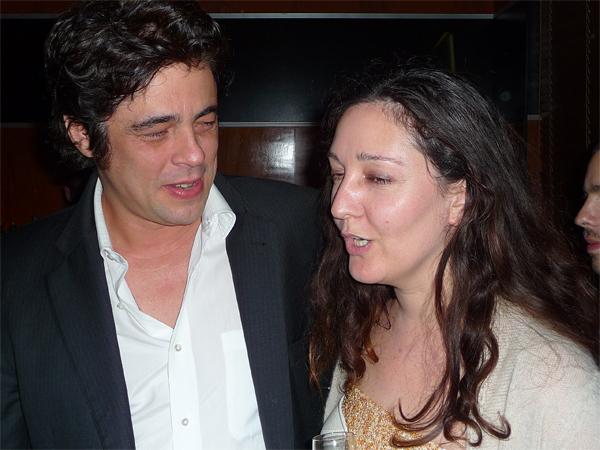 Benecio del toro and Bennedict Gauthier.
