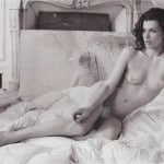 Milla Jovovich nude in Purple magazine