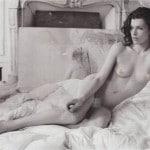 Milla Jovovich nude in Purple magazine