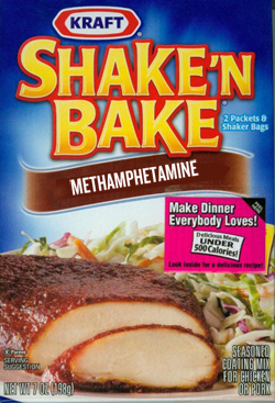 Shake and Bake- the simple way to make crystal meth. - Scallywag and
