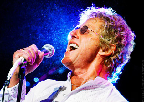 Tea and a Chat: Roger Daltrey at Times Square.