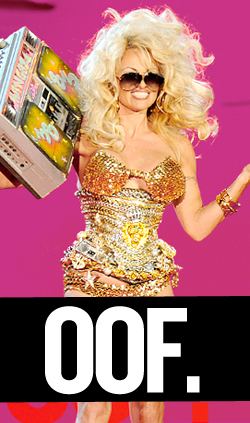 Pamela Anderson Decides to Become a Pop Star.