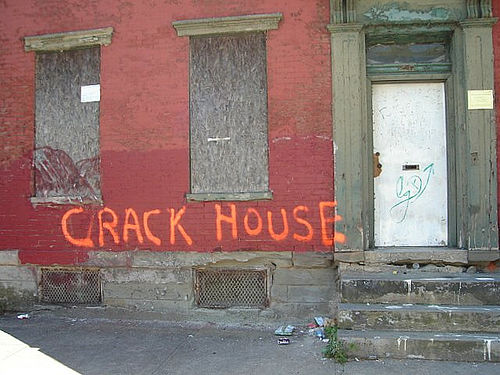 Observations of a Crack House.