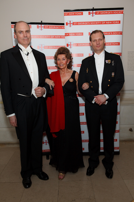 The dandy set arrive at the 240th English Ball.