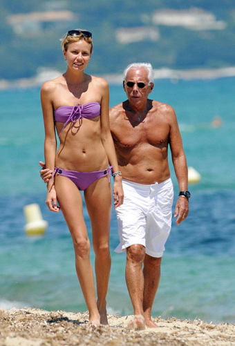 Could this Giorgio and his niece?