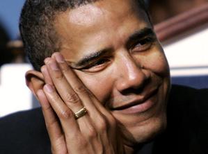 "Barack ""the Opportunist"" Obama."