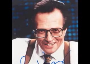 The tears are flying now that Larry King is retiring.