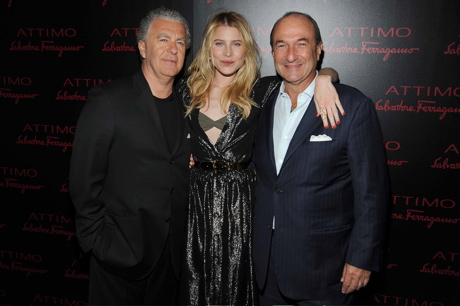Salvatore Ferragamo and Dree Hemingway give you GLAM and ATTIMO.