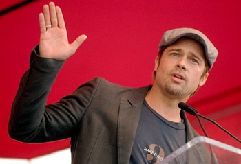 Brad Pitt wants you to know in BPs case the death penalty is just fine.