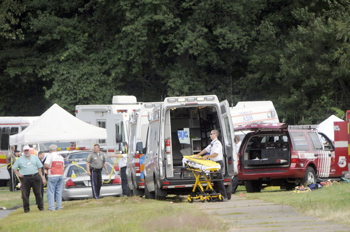 Omar S. Thornton kills 9 in a shooting rampage. More feared dead.