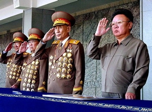 The world braces itself as North and South Korea exchange volley of missiles.