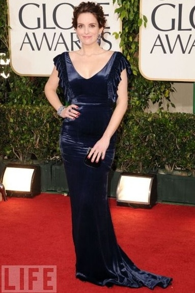Worst dressed #16; Tina Fey. Tina we think your comedy act best be left for SNL.
