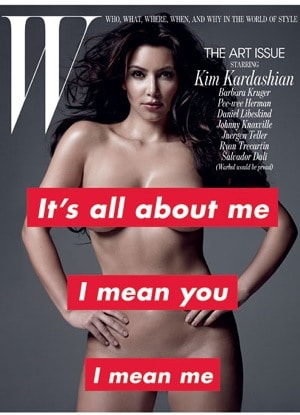 Its time to gawk at naked pictures of Kim Kardashians nipple.