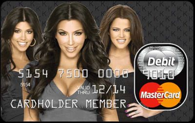 Will you be able to live without  your Kardashian Credit Card?