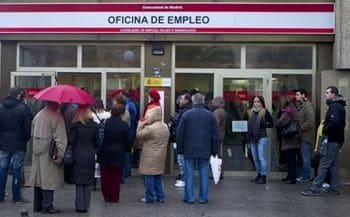 Spains unemployment is the highest in the industrial world.