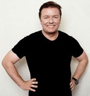 EXTRAS: Ricky Gervais. photo: Ray Burmiston