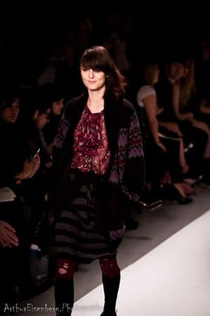 Charlotte Ronson 2011 Fall Collection: Grunge avec glamour.