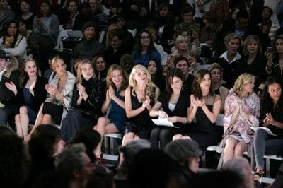 Monique Lhuillier - Front Row - Fall 08 MBFW