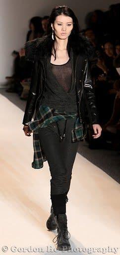 Nicholas K serves us up Gothic Grunge glam.