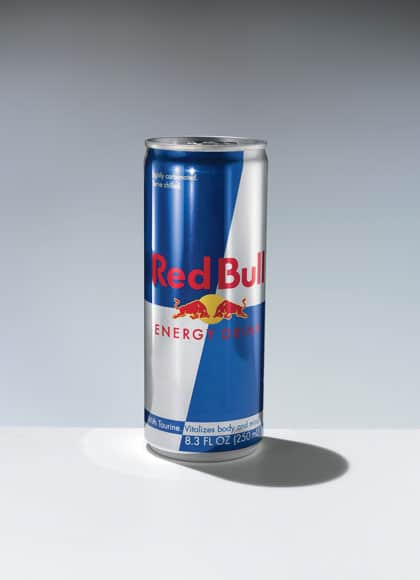 'Real Lilo's' preferred choice of Beverage- Red Bull.