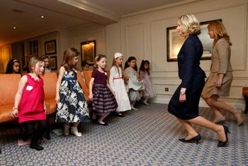 London boot camp opens for pint sized princess wannabes.