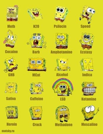 spongebob-on-drugs