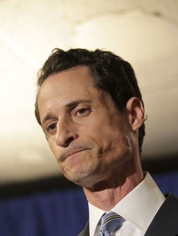Anthony Weiner has finally thrown in the towel.
