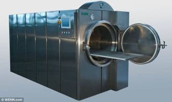 Funeral homes introduce machines which turn bodies into brown syrup . The end of cremation...