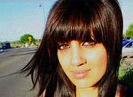 Dishonourable: Noor Almaleki, 20, was killed when her father ran over her in his Jeep Cherokee after she refused to marry the man he wanted.