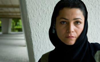 Iranian actress Marzieh Vafamehr