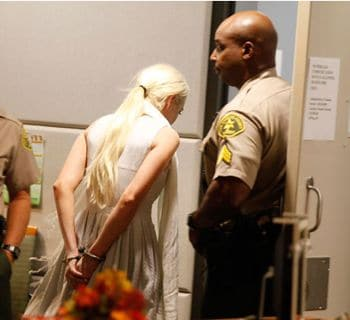 My favorite heros probation is revoked. Lindsay Lohan bail set at $100 000.