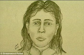 Police sketch of suspect.