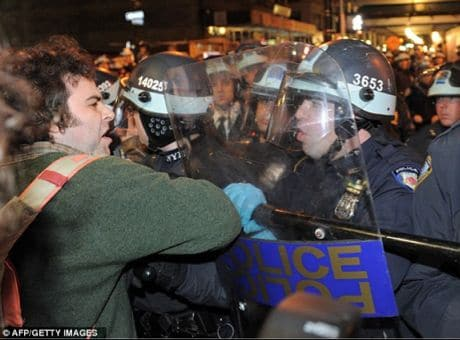 NYC conducts orchestrated raid on Occupy Wall street Zuccotti park protesters. Dirty tactics in desperate times...Where to now?