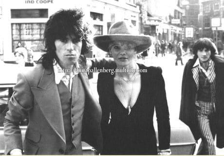 """Keith, Anita & Prince """"Stash"""" Stanislaus Klossowski de Rola - October 24, 1973"""