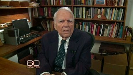 Legend Andy Rooney passes away at the age of 92. What will happen to journalism now?