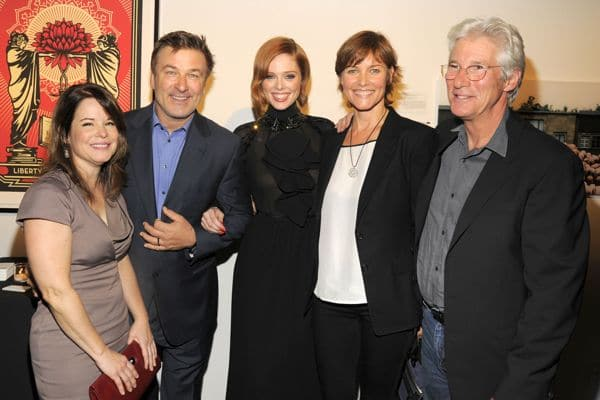 Images courtesy of PMC. Mary Brosnahan, Alec Baldwin, Coco Rocha, Carey Lowell, Richard Gere