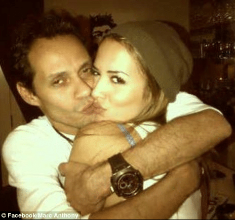 Marc Anthony lets J Lo know he can haul in the young hot pretty things too.