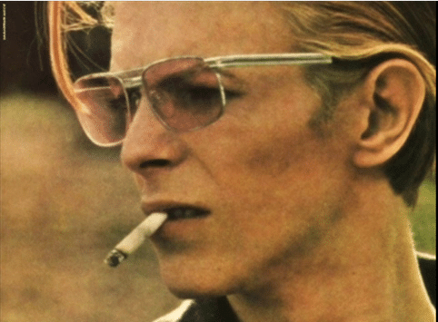 David Bowie- 'the perennial Rebel.'