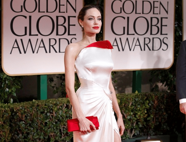 The perennial hawt bixch- Angelina Jolie. Where did she place on our 'worst dressed' list?