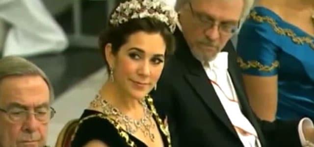 Princess Mary of Denmark and Pentti Arajarvi