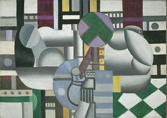 Composition with Mechanical Elements-Fernand Leger