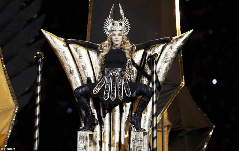 At 53 did Madonna manage to pull off the greatest show on Earth?