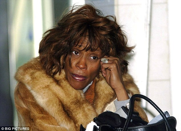 Whitney Houston: Doomed to self destruct, blew over $100 million on crack.