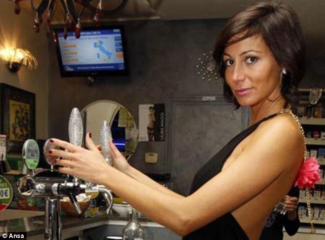 Laura Maggi will always serve you a very delicious espresso...