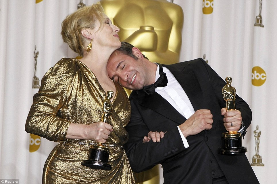 Meryl Streep wins for the third time over 33 years whilst America bags its third recession.