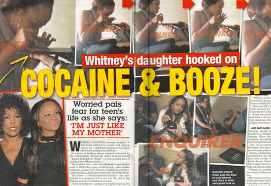 Whitney Houston family saga remains in over drive...