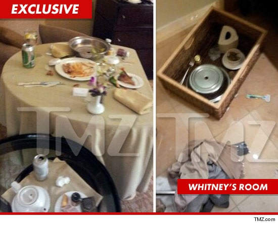 Whitney Houston's room at the hotel where she was found deceased.