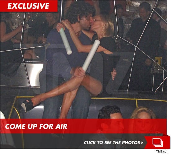 Camille Grammer knows how to enjoy herself....