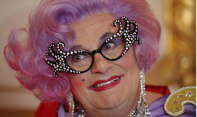 Dame Edna Evarage is a preferred hawt bixch.