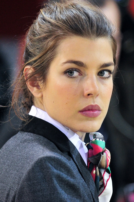 Charlotte Casiraghi is the new undisputed champion of Gucci.